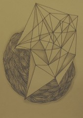 Reveal. (:nostalgia:) Tags: old sun mountains art modern triangle drawing folk hipster diamond doodle shade indie reveal curcles