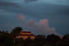 Clouds over Brasilia (chris.diewald) Tags: sunset brazil storm rain brasil clouds flickr chuva nuvens brasiia