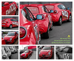 """ Alfa Romeo Mito // By FM104 Dublin's Hit Music Station // @ The Red Mall, Blanchardstown SC, County Dublin, Republic of Ireland "" (