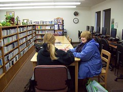 "Ged Class ""one student at a time"" (Iamcute2) Tags: public day library snapshot az fredonia azsnapshotday"