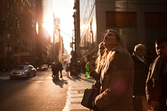 Perfect morning (Che-burashka) Tags: street nyc winter girls people newyork green canon hope bottle candid 28mm madison usm f18 avenue ef beginnings canonef28mmf18usm thephotosnottaken