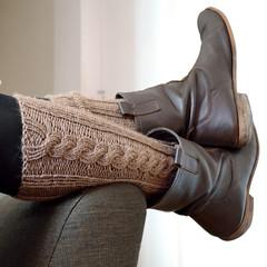 Mélusine (Vidibio) Tags: tricot knit jambière