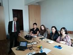 "Predavanja studentima master studija na Nacionalnom univerzitetu u Kazahstanu <a style=""margin-left:10px; font-size:0.8em;"" href=""https://www.flickr.com/photos/89847229@N08/13758692073/"" target=""_blank"">@flickr</a>"