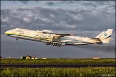 "Antonov An-225 ""Mriya"" (Pavel Vanka) Tags: plane airplane big czech prague aircraft jet praha ukraine cargo cossack czechrepublic takeoff biggest spotting antonov cargoplane an225 mriya antonovairlines lkpr sixengine mrija"