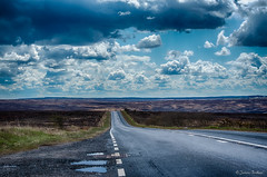 The Long Road (Jemma Graham) Tags: road york uk trip family england sky weather clouds long driving unitedkingdom britain yorkshire stormy roadtrip gb straight scarboroughdistrict april2016