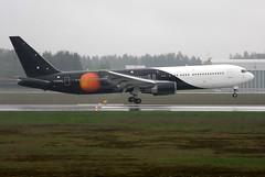 Titan G-POWD, OSL ENGM Gardermoen (Inger Bjrndal Foss) Tags: norway boeing titan 767 osl gardermoen engm gpowd