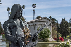 Johnny Ramone. Hollywood Forever Cemetery. Los Angeles, CA (DTG Photography) Tags: california cemeteries music history cemetery los angeles guitar headstone southern hollywood ramones johnny forever ramone