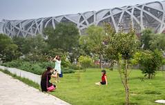 Photo Shoot, Bejing (tom.frohnhofer) Tags: china girls asia stadium beijing birdsnest 2015 tomfrohnhofer