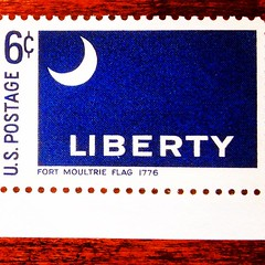 The Liberty Flag (Pennan_Brae) Tags: usa moon vintage liberty stamps flag patriotic stamp indie filmmaking postage props filmmaker prop