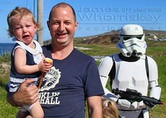Star Wars - Not Impressed ! (James Whorriskey (Delbert Jackson)) Tags: uk ireland light storm trooper colour reflection art set catchycolors print star la photo starwars construction scenery photographer head picture security photograph londonderry northernireland wars filming derry donegal ulster malin malinhead inishowen millenniumfalcon impressionsexpressions aroundus jameswhorriskey delbertjackson jameswhoriskey jameswhorriskeyphotography