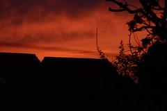 roof top orange (quintinsmith_ip) Tags: sunset red orange sun set fire glow glowing setting