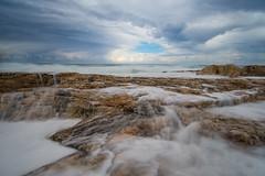 San Julian Bay #2 (woozy95) Tags: ocean sea sky cloud water rock bay julian san long exposure malta