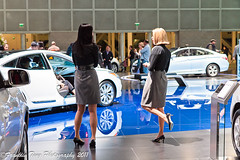 LA Auto Show 2011- Hyundai Product specialsts (FJT Photography) Tags: pictures auto show california camera new ladies girls people woman hot sexy cars stockings beautiful leather lady canon la photo losangeles los women flickr pretty gallery highheels dress angeles models picture pic skirt exhibition photograph blonde brunette gals pantyhose nylon lacc 2012 spokesperson 2011 60d productspecialist laautoshow2011