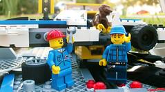 Day 331 (chrisofpie) Tags: chris pie monkey lego doug legos hero heroes minifig roger minifigure bluehat legohero chrisofpie rogeranddoug 365legos dougthechimp