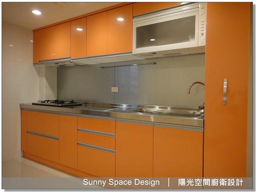 板橋新海路邱設計不銹鋼廚具-陽光空間廚衛設計12
