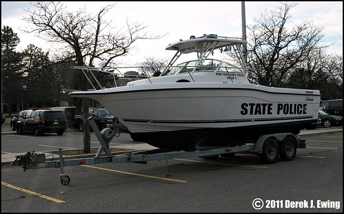New York State Police Troop F - Patrol Boat - a photo on