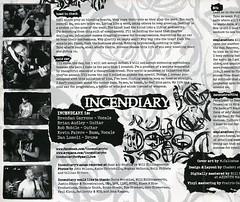 "Incendiary/Unrestrained split 7"" art/insert (Katie Chirichillo) Tags: art inch album vinyl 7 incendiary record split insert unrestrained"