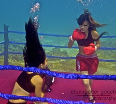 UW-ChineseBoxing 8 (steadichris) Tags: underwater models chinese scuba lingerie cebu boxing breathhold