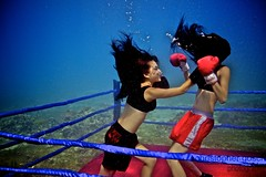 UW-ChineseBoxing 12 (steadichris) Tags: underwater models chinese scuba lingerie cebu boxing breathhold