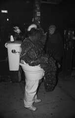 (embryolk) Tags: nyc newyorkcity halloween toilet parade shit diarrhea 2011