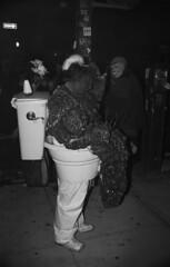(embryolk) Tags: nyc newyorkcity halloween toilet parade shit diarrhea 2011