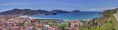 Panorama of Arraial do Cabo (Frans Harren) Tags: ocean blue sea brazil panorama water brasil riodejaneiro canon geotagged bra hills atlanticocean hdr canonpowershotg1 arraialdocabo powershotg1 ptgui photomatix 3exp exposurefusion geo:lat=2297932280 geo:lon=4202725947