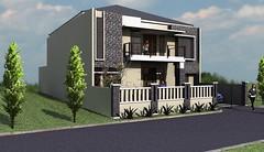 Desain rumah modern minimalis di daerah Rawamangun1 (rumahdesain2000) Tags: jakarta minimalis elegan mushola batualam preliminarydesign rumahibadah 2lantai projectlists