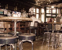 J Patrick's Irish Pub & Grill (Renee Rendler-Kaplan) Tags: people chicago bar lunch pub december sitting gbrearview chairs kodak saturday delicious sit chandeliers kodakeasyshare stools seated pubcrawl gapersblock wbez whatevs chicagoillinois sliders chicagoist 2011 greatservice eriestreet peopletalking peoplestanding peoplesitting gohawks peopledrinking greatfries reneerendlerkaplan jpatricksirishpubgrill reubensandwiches yesthatsgumunderthetables thisisprobablythebrightestlightthatsbeenoninthisplace nowewerentonapubcrawlthecamowearingpeopleallwere yesthestoolsareshabby soarethebooths