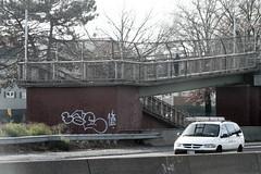 lae (Into Space!) Tags: street urban ny newyork graffiti li photo highway tag longisland queens lie expressway graff hollow bombing throw 495 lae throwie bks intospace intospaces