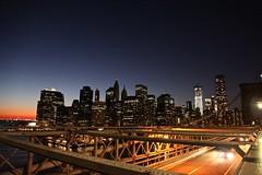 New York des del Pont de Brooklyn