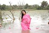 tamil actress in wet saree