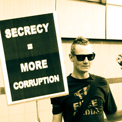 Secrecy = more corruption