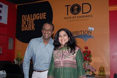 Sudha & Krishnan, founders of DiD Hyderabad (Dialogue-in-the-Dark) Tags: india exhibition international staff did venue dialogue socialentrepreneurship enterpreneur dialogueinthedark didinternational