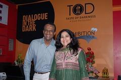 Sudha & Krishnan, founders of DiD Hyderabad (Dialogue-in-the-Dark) Tags: india exhibition international staff did venue dialogue socialentrepreneurship enterpreneur dialogueinthedark didinternational
