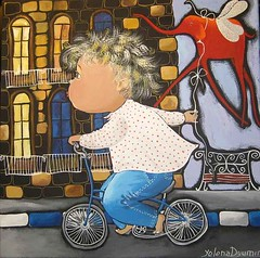 Boy on the bicycle (dyuminart1) Tags: artwork modernart kidsart artsandcrafts artprojects artandcraft childrensroom artideas artpictures artforchildren artforkids childrensrooms paintingsforkids artonline picturesandpaintings popularpaintings artworkfor artforfun paintingsforchildren paintingsof paintingpictures thepaintings drawingforkids yelenadyumin dyuminart paintingsfor forchildrenrooms