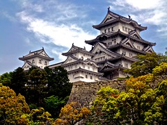 The White Hero in Himeji_(Explored Highest Postion #1) (xris74) Tags: castle japan asia explore himeji chateau schloss burg explored whitehero xris74