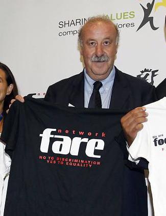 Vincente del Bosque supports FARE