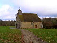 La chapelle Saint Jean Baptiste - Saint-Sauvier - Allier - Auvergne - France (vanaspati1) Tags: france  allier fontaine chapelle auvergne saintrmy saintsauvier