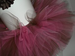 Hot Pink and Brown Tutu (lulustutus) Tags: baby tutu tutus pinktutu birthdaytutu babytutu customtutu toddlertutu newborntutu infanttutu browntutu