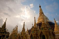 Shwedagon after storm - Rangoon - Burma - Sylvain Brajeul-2 (Sylvain Brajeul) Tags: voyage travel temple asia southeastasia shwedagon burma myanmar asie 2009 birman pagode birmanie travelphotography asiedusudest travelphotographer brajeul sylvainbrajeul
