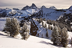 Distant Aspirations (James Neeley) Tags: mountains landscape grandtetons tetons hdr grandtarghee 5xp jamesneeley flickr24