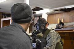 DSC_0044 (Goodi314) Tags: portrait film set movie soldier zombie apocalypse gasmask director infection zombieapocalypse transitivestrain