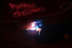 (Full Circle Photography- Calgary) Tags: light portrait self paintingwithlight laser 365 merrychristmas