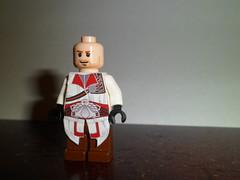 Lego- Ezio (Grant Me Your Bacon!) Tags: lego scorpion saber decal custom brotherhood creed ezio assassins