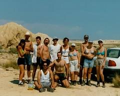 Ruta 88 Crew (Oneras) Tags: cute sexy legs mario crew heat movies shorts calf filming calves navarra piernas route88 bardenas nagore shortmovie oneras estitxu igo ruta88 scansbymarioestitxu