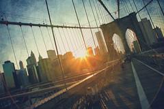 Sunset over Brooklyn Bridge (Michael Lax Photography) Tags: nyc bridge sunset newyork brooklyn brooklynbridge