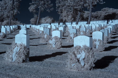 Infrared Fort Rosecrans National Cemetery