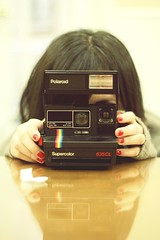 Rosy: Polaroid (StopTheTime. rlhunk) Tags: red love me canon polaroid one see cross heart you near who pastel being dream lot best give have nails believe come if and oh got dare had said goodbye hear rosy fong forgive khalil 500d earn supercolor ive wont i hunkcrod iveeee