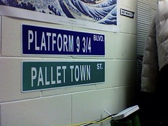 I Saw the Signs (RojzillaCafett) Tags: harrypotter pokemon platform934 pallettown