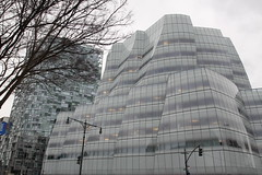 100 11th Avenue & IAC Building, New York, NY (aadair4) Tags: newyork architecture frankgehry lowermanhattan jeannouvel iacbuilding img2303 100eleventhavenue
